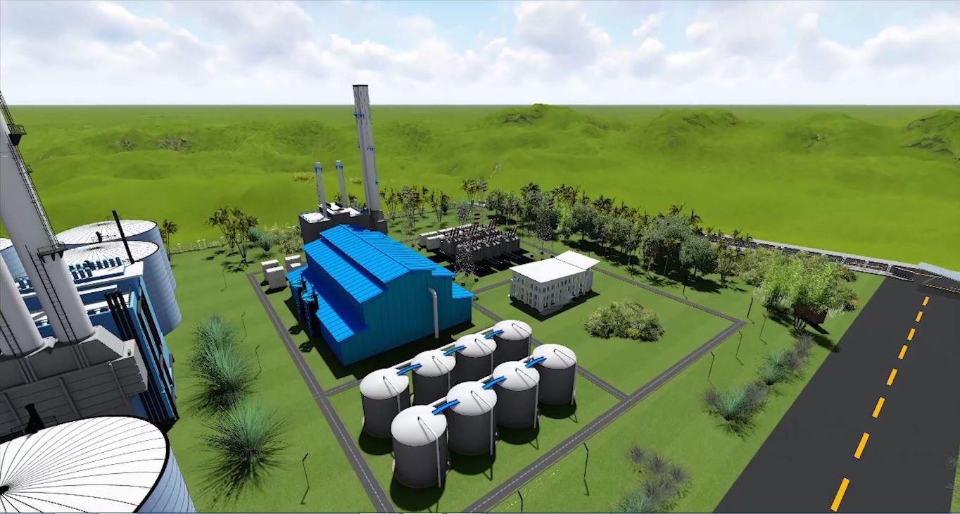 Power plant bno